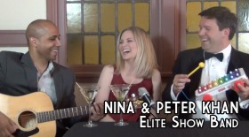 NINA & PETER KHAN – Elite Show Band